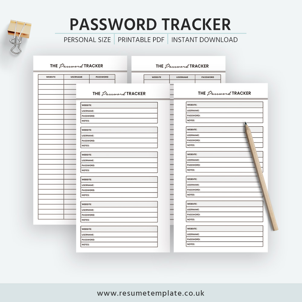 photograph relating to Printable Password Keeper identify 2019 Pword Tracker, Pword Keeper Printable, Specific Dimensions, Filofax Unique, Kikki K Medium, Prompt Obtain